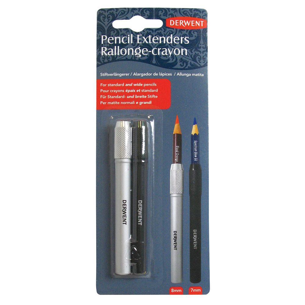 Derwent Kalem Uzatıcı Set 8mm & 7mm for Drawing & Sketching