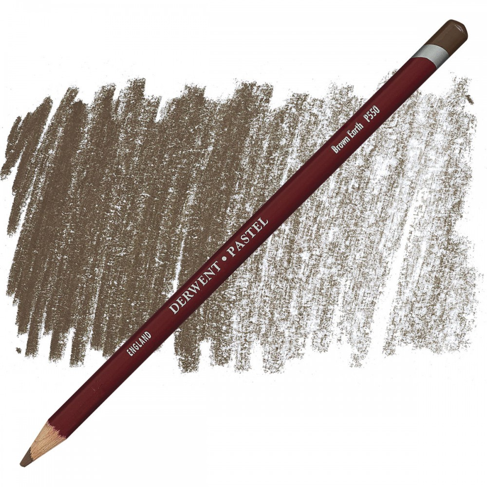 Derwent Pastel Pencil - Brown Earth P550