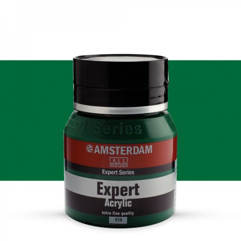 AMSTERDAM ALL ACRYLIC EXPERT SERİSİ 400 ML  AKRİLİK BOYA - PERMANENT GREEN DEEP