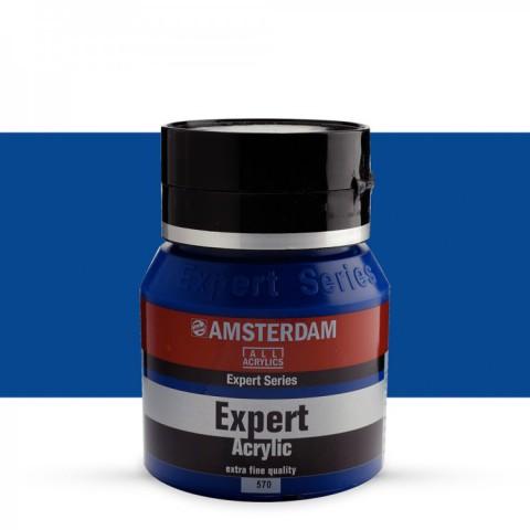 AMSTERDAM ALL ACRYLIC EXPERT SERİSİ 400 ML  AKRİLİK BOYA - PHTHALO BLUE