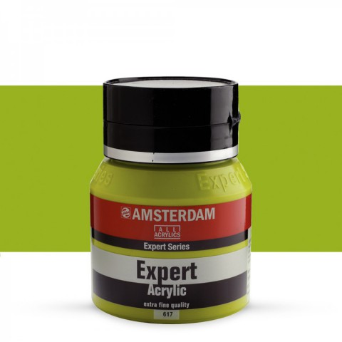 AMSTERDAM ALL ACRYLIC EXPERT SERİSİ 400 ML  AKRİLİK BOYA - YELOWISH GREEN