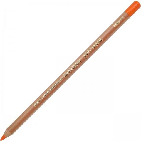 Artist´S Pencil With Dry Pastel 8820/40 Cadmium Orange