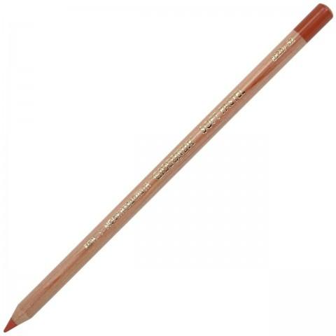 Artist´S Pencil With Dry Pastel 8820/52 Medium Terracota
