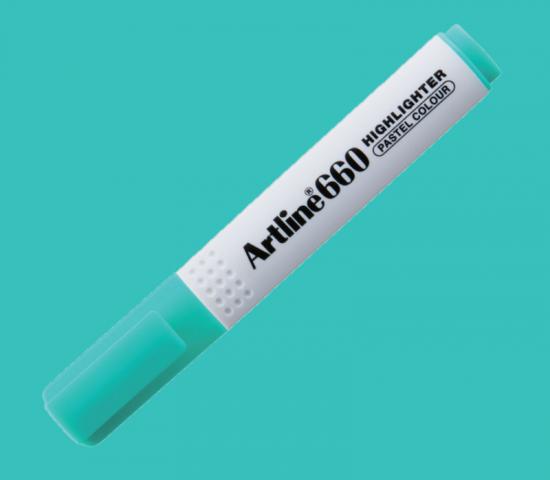 Artline 660 Fosforlu Kalem Pastel Yeşil