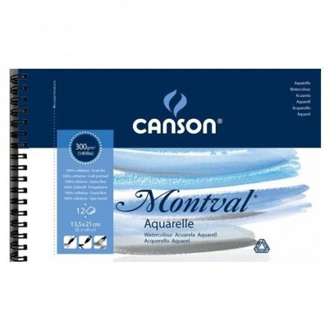 CANSON MONTVAL 12S A5 300G RESİM DEFTERİ
