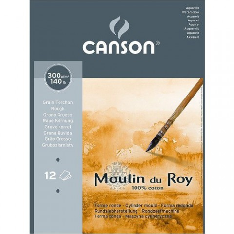 Canson Moulin Du Roy 300Gr 24X32 12 Syf. Gt