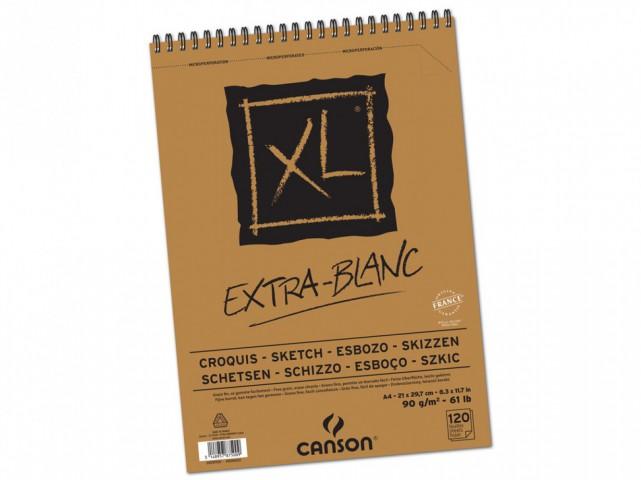 Canson XL Extra White Eskiz Defteri 90g A4 120 Yaprak