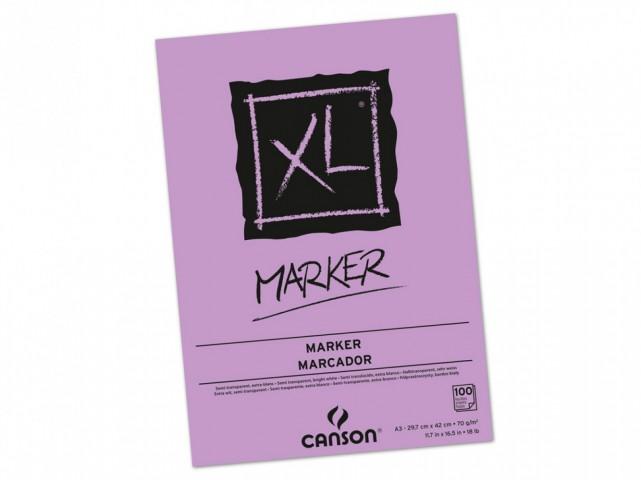 Canson XL Marker Defteri - A3 - 70Gr. 100 Yp.