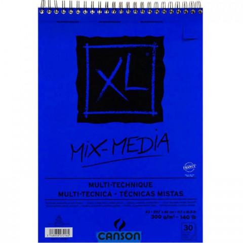 Canson XL Mix Media Spiralli Blok 300 gr. A3 30 Sayfa