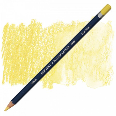 Derwent Watercolor Pencil - Straw Yellow 5