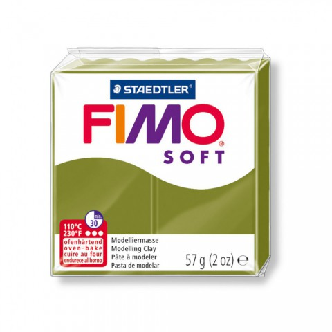FIMO POLYMER CLAY 57GR VERT OLIVE