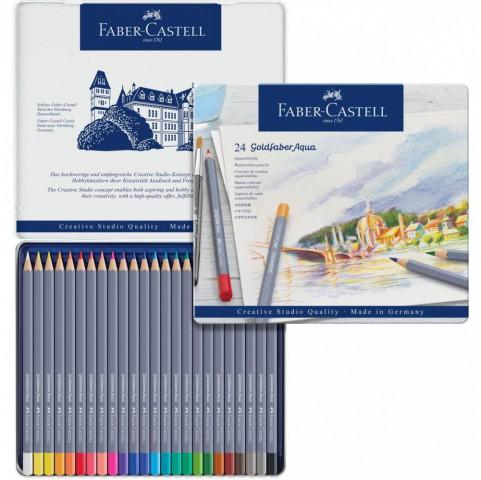 Faber Castell Creative Studio Goldfaber Aquarell Boya Kalemi 24 Renk