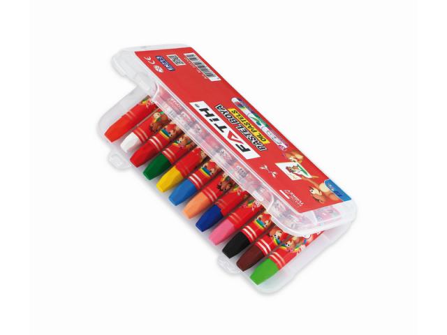 Fatih Pastel Boya 12 Renk King Size (Çantalı)