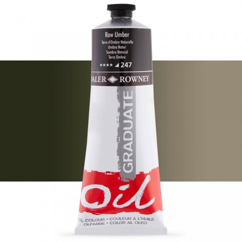 Graduate Yağlı Boya GRAD OIL 200ML RAW UMBER 247