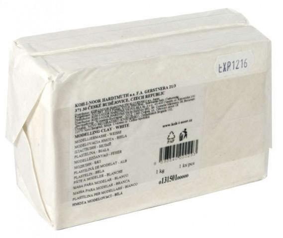 KOH-I-NOOR Modeling Clay White Plastilin 1000 Gr
