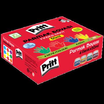 Pritt---Parmak Boyası - 4 Renk - 50ml