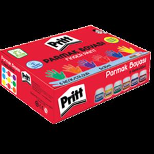 Pritt---Parmak Boyası - 6 Renk - 50ml