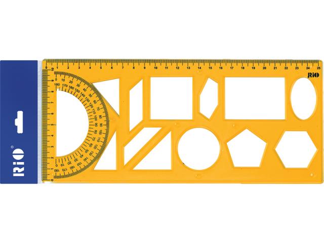 Rio Geometrik Şablon