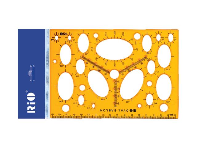 Rio Oval Şablon