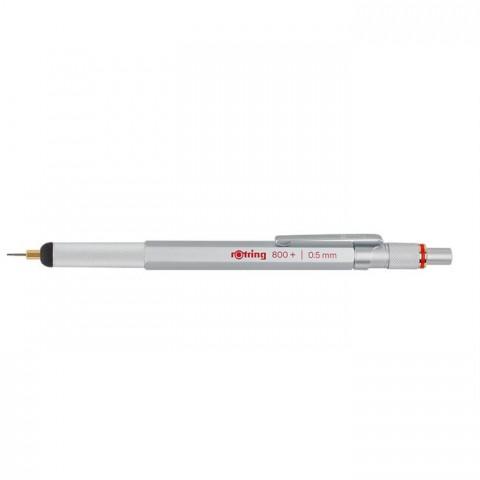 Rotring 800+ İki Fonksiyonlu kalem, Krom 0.5 mm