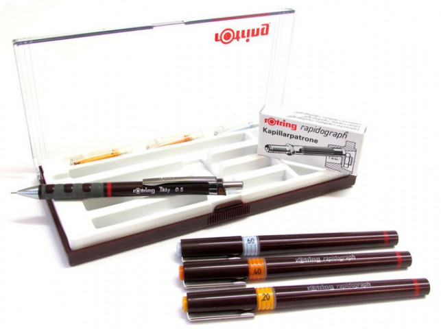 Rotring Rapido Kalemi Junior Set 3+1 0.2-0.4-0.6 MM S0699340