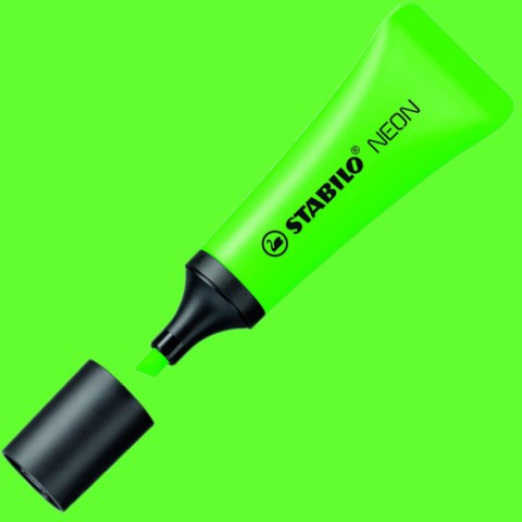 STABILO NEON Fosforlu Kalem - Yeşil 72/33