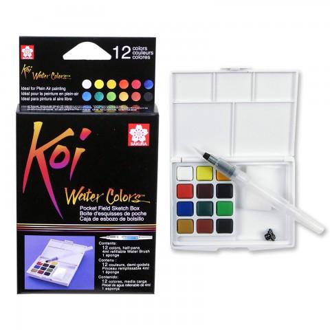 Sakura Koi Watercolours Sulu Boya Seti 12li XNCW-12H