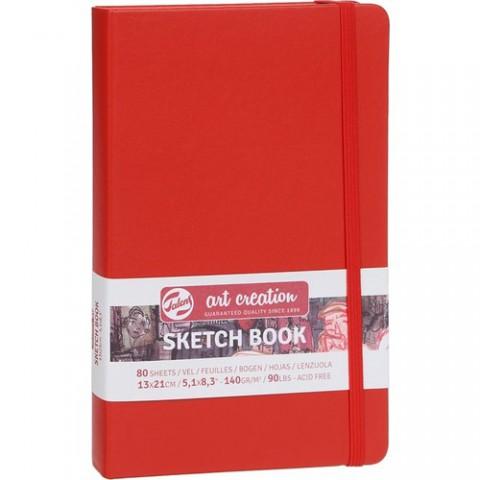 Talens Artcreation Sketch Book 13X21CM Kırmızı