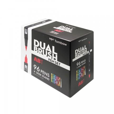 Tombow Dual Brush Pen 96'lı Masa Üstü Set