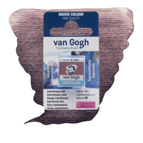VAN GOGH SULU BOYA TABLET - INTERFERENCE RED