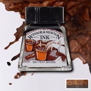WN Çizim Mürekkebi 14ml Peat Brown 469