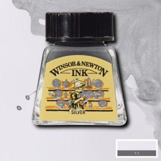 WN Çizim Mürekkebi 14ml Silver 617