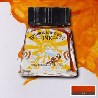 WN Çizim Mürekkebi 14ml Sunshine Yellow 633