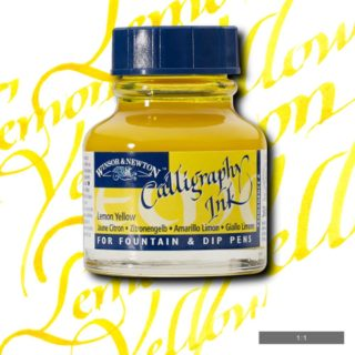 WN Kaligrafi Mürekkebi 30ml Lemon Yellow 345