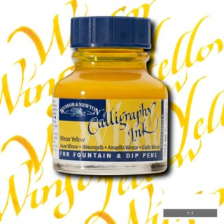 WN Kaligrafi Mürekkebi 30ml Winsor Yellow 730