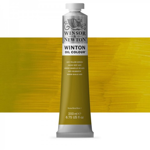 Winsor Newton Yağlı Boya 200ml Azo Yellow Green 280