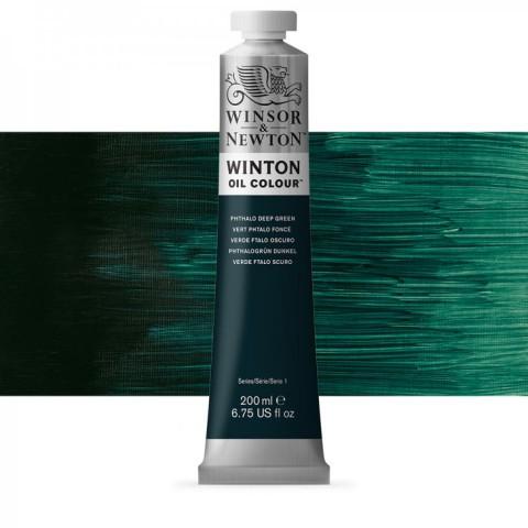 Winsor Newton Yağlı Boya 200ml Phthalo Deep Green 048