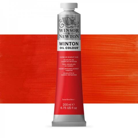 Winsor Newton Yağlı Boya 200ml Cadmium Scarlet Hue 107