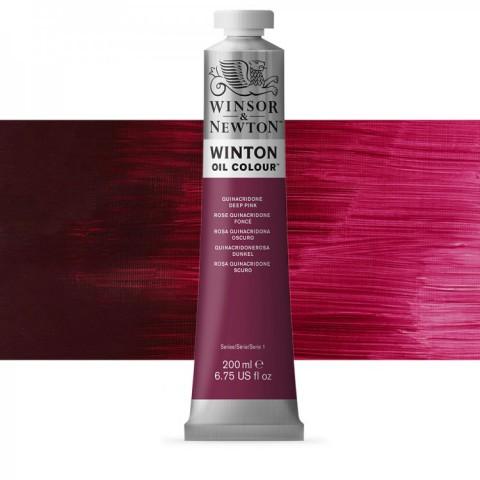 Winsor Newton Yağlı Boya 200ml Quinacridone Deep Pink 250