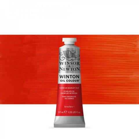 Winsor Newton Yağlı Boya 37ml Cadmium Scarlet Hue 107