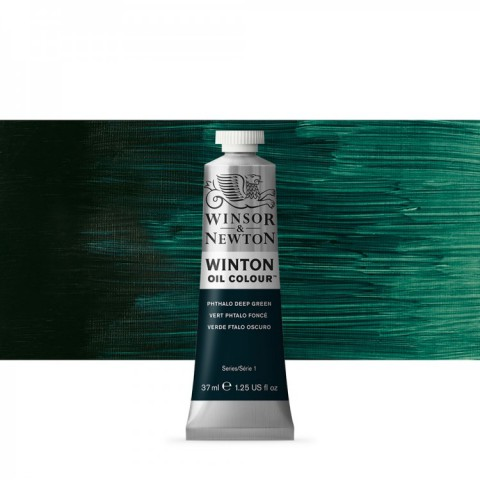 Winsor Newton Yağlı Boya 37ml  Phthalo Deep Green 048