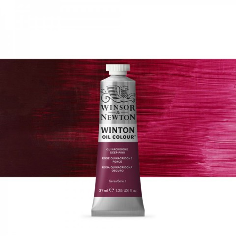 Winsor Newton Yağlı Boya 37ml  Quinacridone Deep Pink 250
